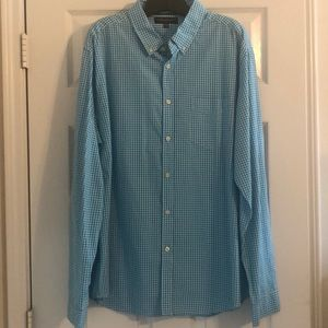 Aeropostale Long Sleeve Plaid Shirt Size X-Large